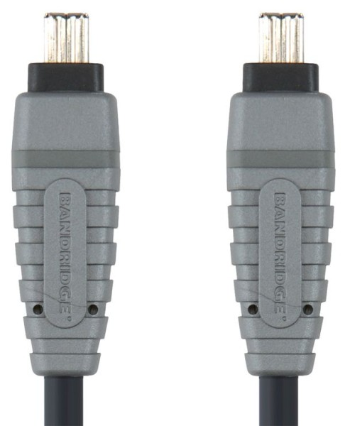 Bandridge 4 - 4 pin FireWire kabel, 2m