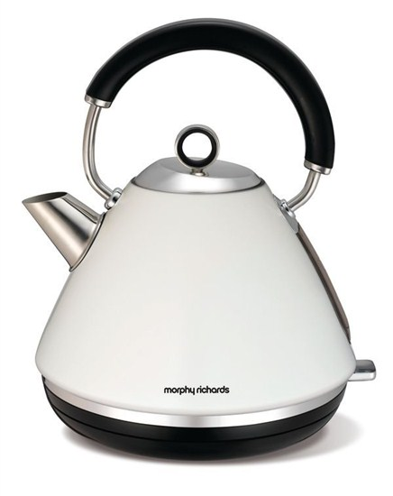 Morphy Richards konvice Accents retro White
